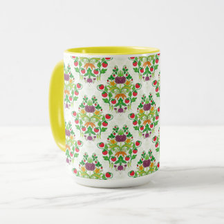 Market Fresh Damask Mug