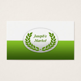 Market/Grocery Business Card