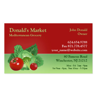 Market Grocery Business Card