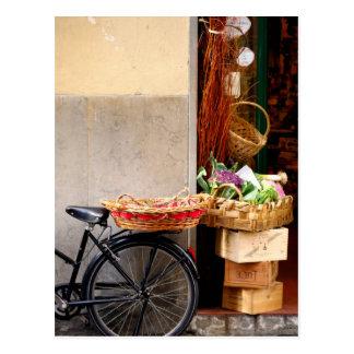 Market in Florence Postcard