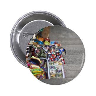 Market Items Pinback Button