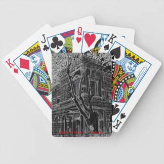 Market of Liniers (Pencil design) Bicycle Playing Cards