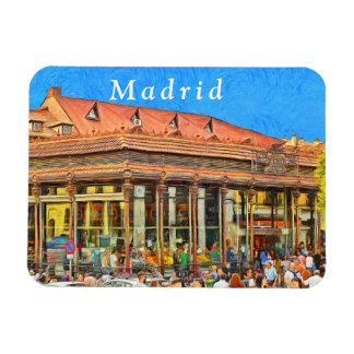 Market of San Miguel in Madrid. Magnet