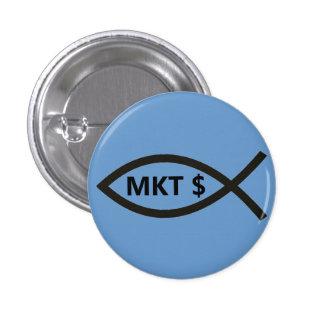 Market Price Fish 3 Cm Round Badge