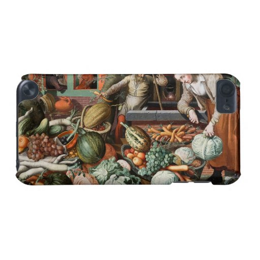"""""""Market Scene"""" vintage art cases iPod Touch (5th Generation) Covers"""