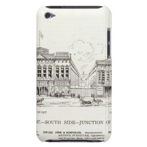 Market South side 9th iPod Case-Mate Case