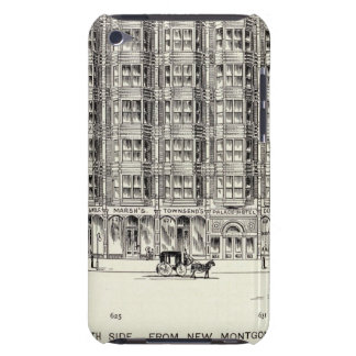 Market South side New Montgomery and Annie iPod Touch Covers