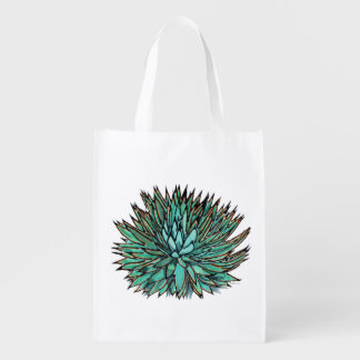 Market Totes - Spiky Green Agave