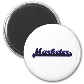 Marketer Classic Job Design 6 Cm Round Magnet