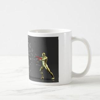 Marketing Concept with Businessman Coffee Mug
