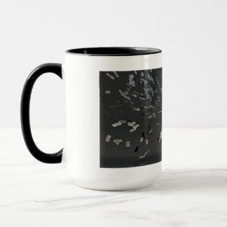 Marketing Concept with Businessman Mug