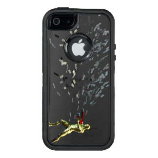 Marketing Concept with Businessman OtterBox Defender iPhone Case