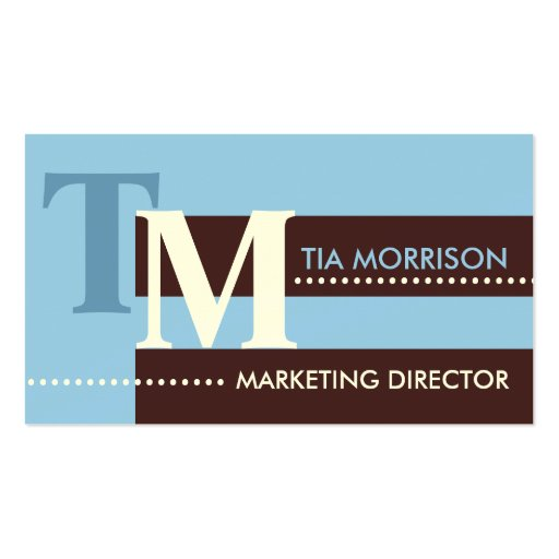 Marketing Director Business Cards