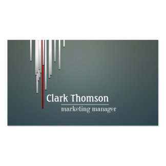 Marketing Manager Professional Business Card