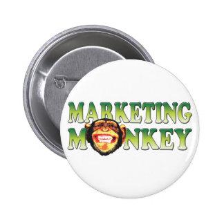Marketing Monkey 6 Cm Round Badge