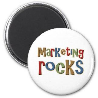 Marketing Rocks 6 Cm Round Magnet