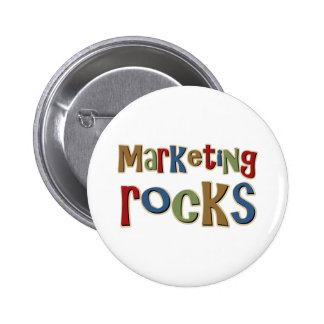 Marketing Rocks Pinback Buttons