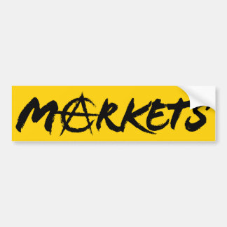 Markets AnCap Bumper Sticker