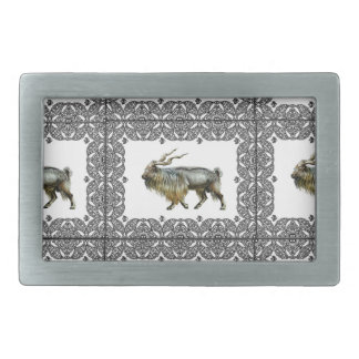 Markhor frames belt buckle