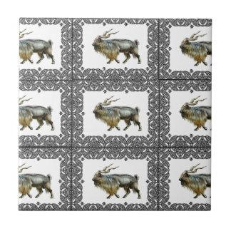 Markhor frames ceramic tile