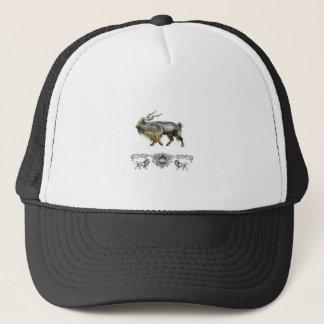 Markhor power trucker hat