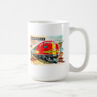 Marklin Santa Fe train Coffee Mug