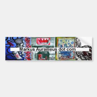 markus aurailieus dot com bumper sticker