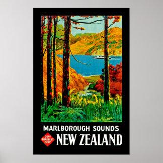 Marlborough Sounds Poster