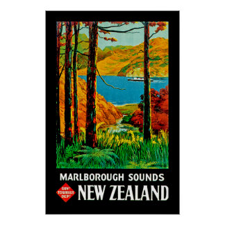 Marlborough Sounds Print