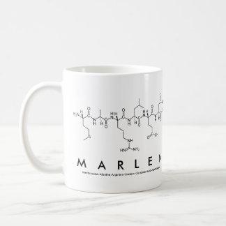Marlen peptide name mug