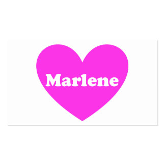 Marlene Business Cards