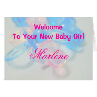 Marlene Greeting Card