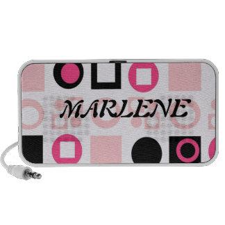 MARLENE Doodle Notebook Speaker