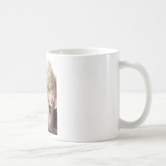Marlene in mirror.jpg classic white coffee mug