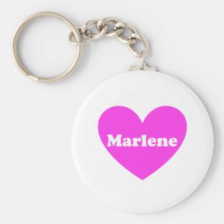 Marlene Basic Round Button Key Ring