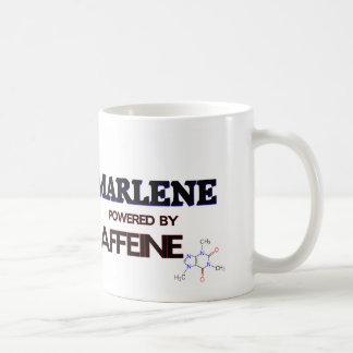 Marlene powered by caffeine coffee mugs