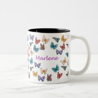 Marlene Two-Tone Coffee Mug