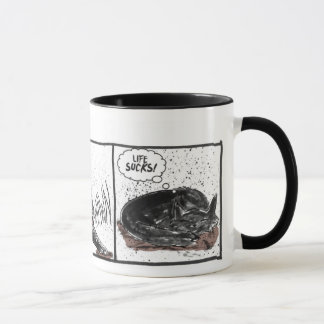 Marley Fish: Life Sucks Mug