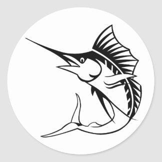 Marlin Classic Round Sticker