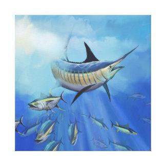 Marlin Hunt Canvas Print