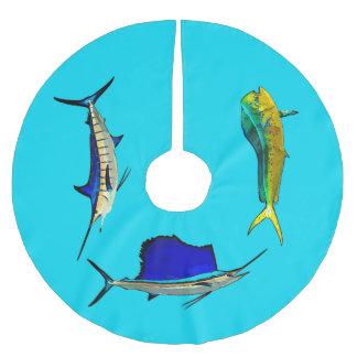 Marlin, Sailfish and Mahi Tree Skirt