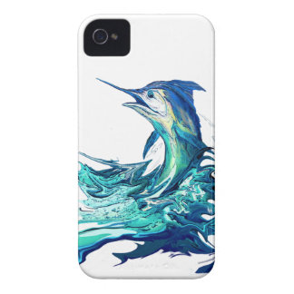 Marlin Sport Fishing iPhone 4 Case-Mate Case