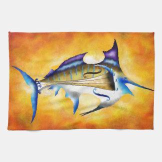 Marlinissos V1 - violinfish Tea Towel