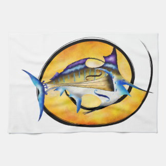 Marlinissos V1 - violinfish witout back Tea Towel