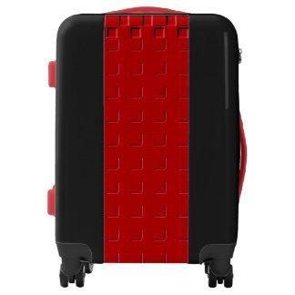 Marlo's Fave Maroon Stripe Luggage