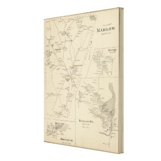 Marlow, Cheshire Co Gallery Wrap Canvas