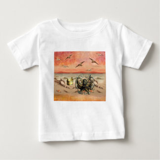 MARMALADE SUNSET AT THE BEACH BABY T-Shirt