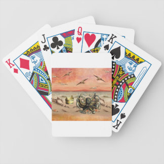 MARMALADE SUNSET AT THE BEACH BICYCLE PLAYING CARDS