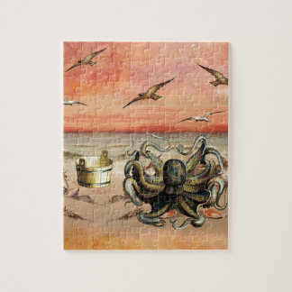 MARMALADE SUNSET AT THE BEACH JIGSAW PUZZLE