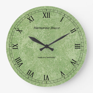 Marmorino Stucco Faux Finish Wallclocks